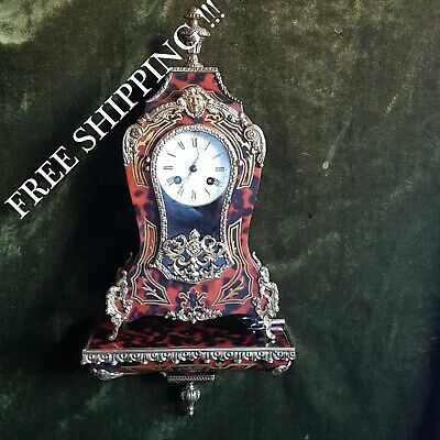 0290 - Boulle clock with console