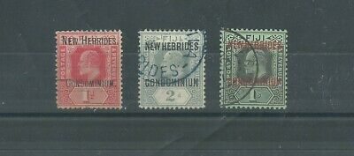 New Hebrides 1910 Selection Used