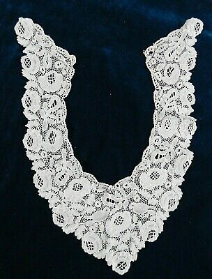 Antique Lace Collar, Birds And Flowers Design