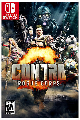 Contra Rogue Corps Nintendo Switch Video Game New Sealed