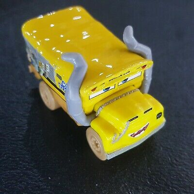 Disney Pixar Cars Die Cast Mini Racers Muddy Miss Fritter Loose Free Ship $15+
