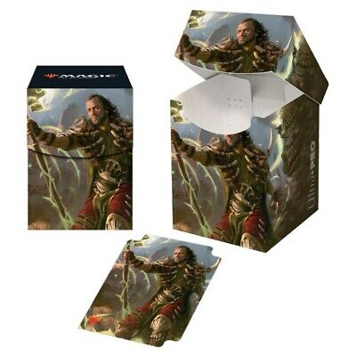 ULTRA PRO Commander DECK BOX Ghired, Conclave Exile CARD BOX FOR 100 MTG CARD