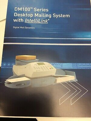 Pitney Bowes Franking Machine Digital Mailing System DM100i And DM200i