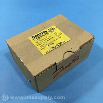 "Danfoss 013G8019 3/4"" NPT Thermostatic Radiator Valve FNOB"