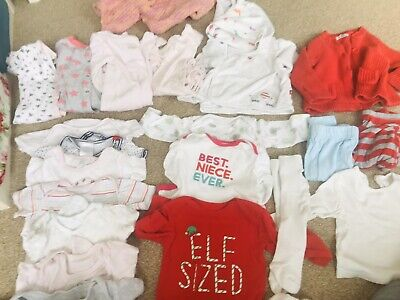 baby girls clothes 3-6months bundle Little White Company,Joules,Different Brands