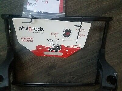 Phil & teds Car Seat Adapter Peg Perego New
