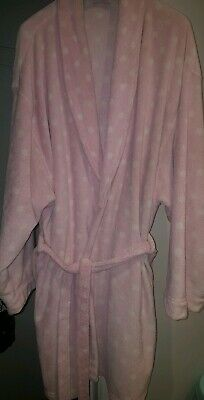 New Look Soft Fleece Dressing Gown. Size L