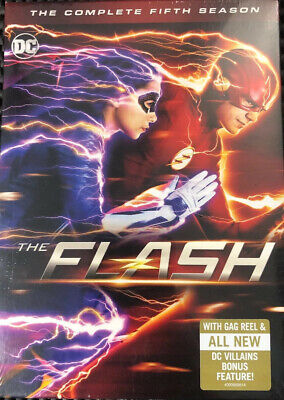 The Flash - Complete Fifth Season (DVD, 2019) NEW SEALED