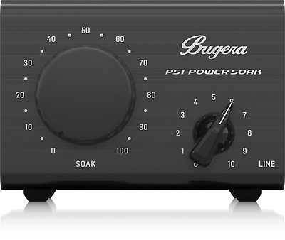 Bugera PS1 Power Soak 100W Guitar Attenuator with Emulated Mic Output + Warranty