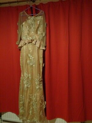 Floor length Nigerian dress, worn once