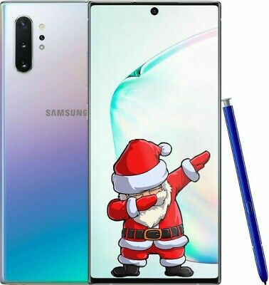 HOLIDAY SPECIAL NEW Samsung Galaxy Note 10+ Plus (FACTORY UNLOCKED) Aurora Glow
