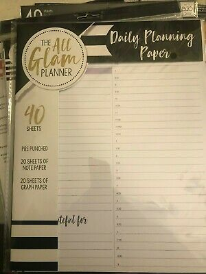 Create 365 Big Size Happy Planner Extension Pages Undated Months Hourly
