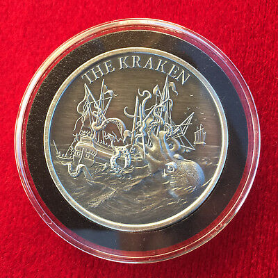 New SEATED LIBERTY 1 Troy OZ .999 Silver Round Custom Antique Finish