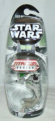 New Hasbro Star Wars Titanium Series Die Cast AT-RT With Clone Trooper Sealed