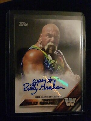 WWE/WWF Superstar Billy Graham 2016 Autographed Authentic Card Signed