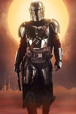 "The Mandalorian ( 11""x 17"") Movie Collector's Poster Print  STAR WARS Textless"