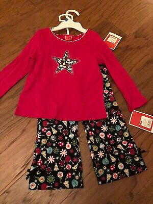 New Nwt Toddler Girl Christmas Holiday Set Outfit 2T 2