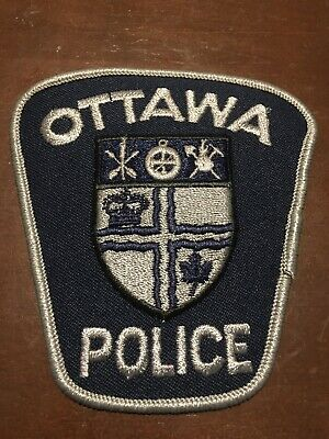 OTTAWA Police Patch- Tactical Patch Very Rare