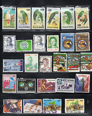 Philippines  Asia Stamps   Used & Mint Hinged   Lot 7322