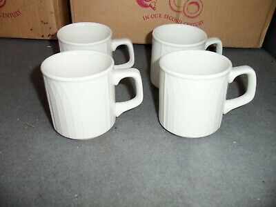 4 Pieces Of Homer Laughlin China (HLC) Gothic Pattern Coffee Mug Cup NEW 9 oz