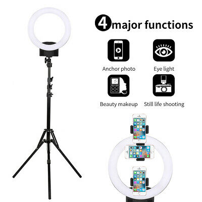 Studio 240 LEDs 14 INCH Photo Video Ring Light + Camera iPhone Holder +2M Stand