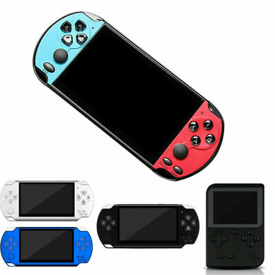 Portable Handheld X7 Video Game Console 128 Bit Built In Game Kids PSP Player