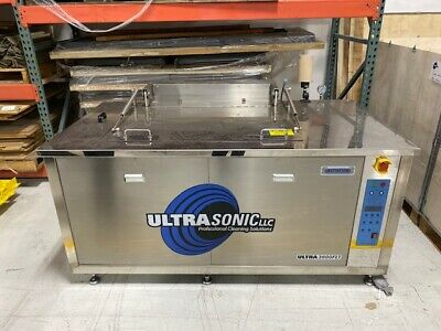 Ultrasonic 3800 FLT Part Cleaner/Washer with Rinse Tank & Heated Dry Tank, 2018