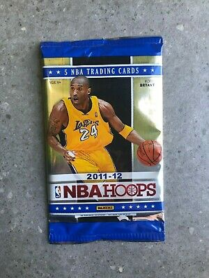 Panini 2011-12 NBA Hoops Basketball 5-Card Pack New and Factory Sealed