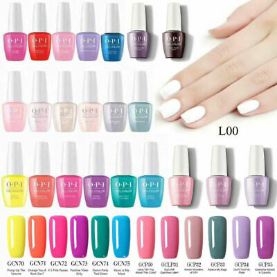 New OPI Nail Polish Gel Color Soak-Off UV/LED 155 Colors 0.5oz Manicure Series