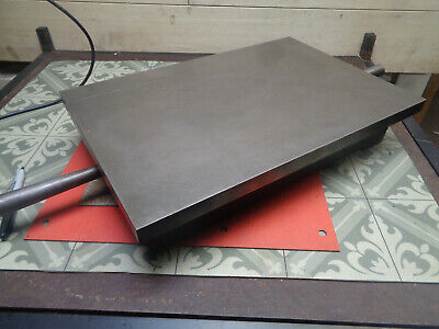 """A & N Cast iron surface plate 18"""" x 12"""" H214933"""