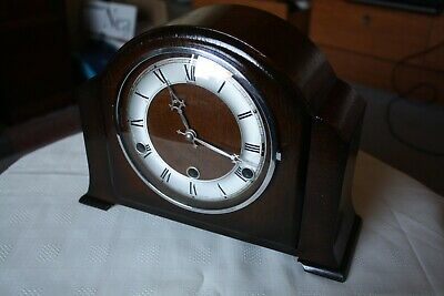 Vintage Andrews Westminster Chime Mantel Clock, Restored and Serviced