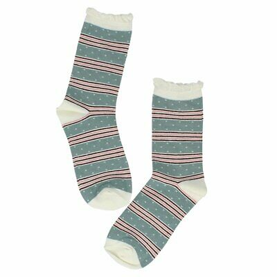 Millie Mae New for AW19 Womens Candy Stripe / Dot Socks