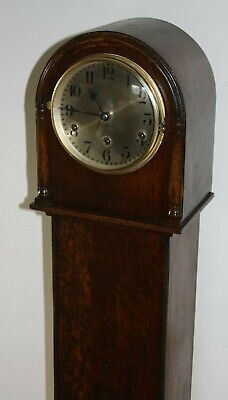Vintage Art Deco Westminster Chime Grandmother Clock, Restored and Serviced