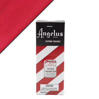 C--192 Angelus Permanent Leather Dye With Applicator 3Oz Rose