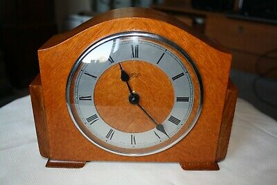 Vintage Smiths Sectric Small Mantel Clock - New Quartz Conversion