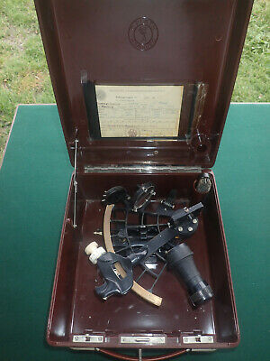 C.Plath Nautical Sextant with original box