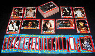 Buck Rogers 25th Century - Complete 88 Card & 22 Sticker SET - Topps 1979 - NM