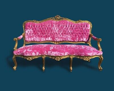 Antique Late Edwardian / Early Victorian Settee