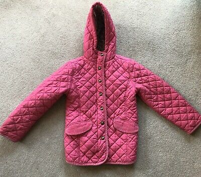 Joules Girls Pink Coat Jacket Age 8 Years