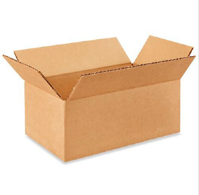 50 10x6x4 Cardboard Paper Boxes Mailing Packing Shipping Box Corrugated Carton