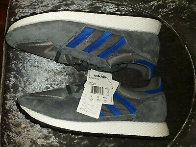 Adidas Originals Forest Grove SUEDE Grey size UK 12 brand new with tags  Mens