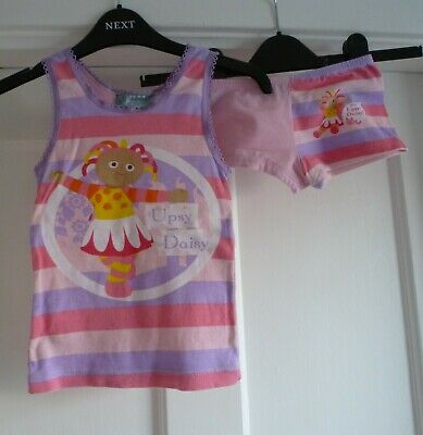 Girls Age 3-4 yrs In the Night Garden Upsy Daisy Vest & Knickers Underwear Set