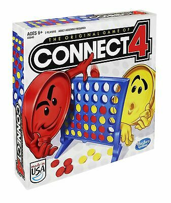 Connect 4 Classic Grid Board Game by HASBRO NEW