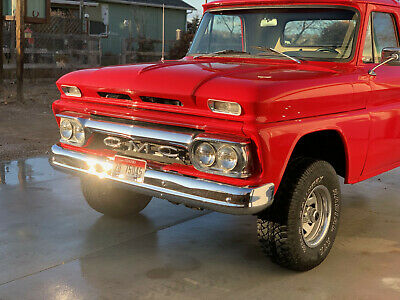 1964 Chevrolet C-10 NONE 1964 GMC 4WD STEPSIDE 350 AUTO POWER STEERING DISC BRAKES UP FRONT