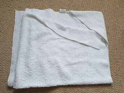 White Hooded Baby Towel