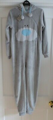 Girls Age 9-10 yrs Grey 'Me to You' Bear All in One Sleepsuit Lounge Wear ~ BHS
