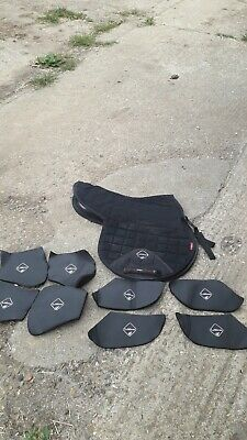 Le Mieux Pro Sports Saddle Pad With Pockets And Shims  Size L