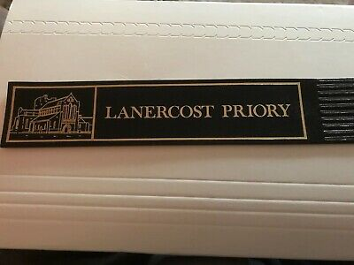 Leather bookmark. Loaner cost Priory. One image.