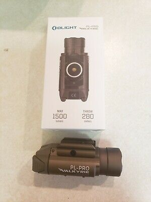 Olight PL-Pro Valkyrie 1500 Lumens Rechargeable Tactical Flashlight