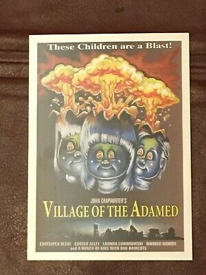 Garbage Pail Kids NYCC 2019 Exclusive VILLAGE OF THE ADAMED Promo Card TOPPS